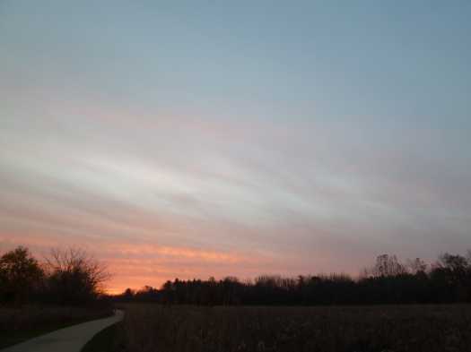 Late Oct Meadowbrook Yet Another Lovely Sunrise