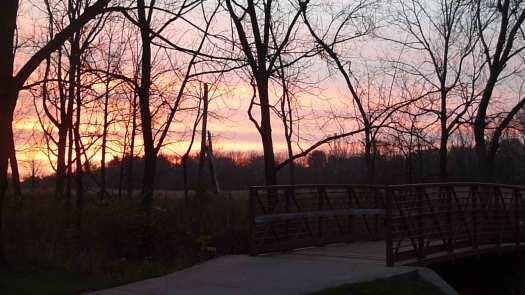 Late Oct Sunrise at Rabbit Bridge