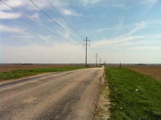 Yankee Ridge, Looking East