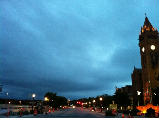 Downtown U Sunrise 13 June 13